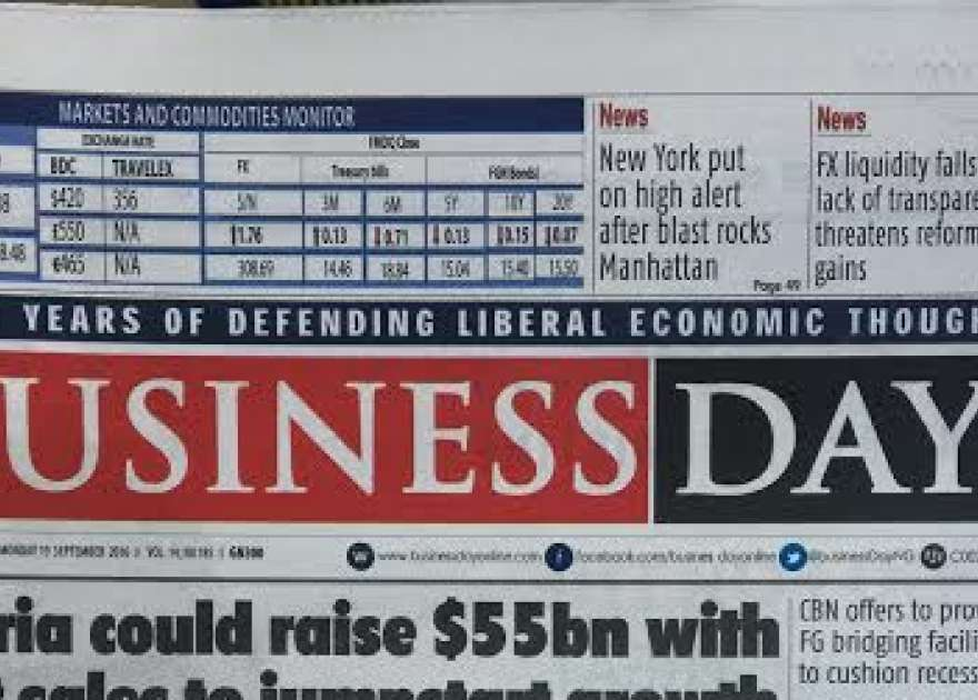 BusinessDay Nigeria Newspaper Online