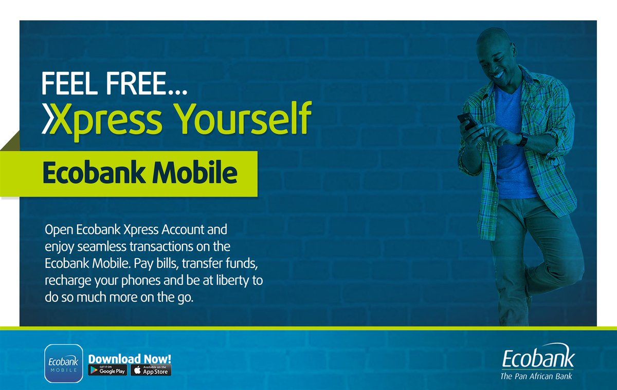 Download Ecobank Mobile App, Open an Express Account for Easy Banking