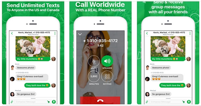 How To Get Free USA Phone Number On TextPlus App