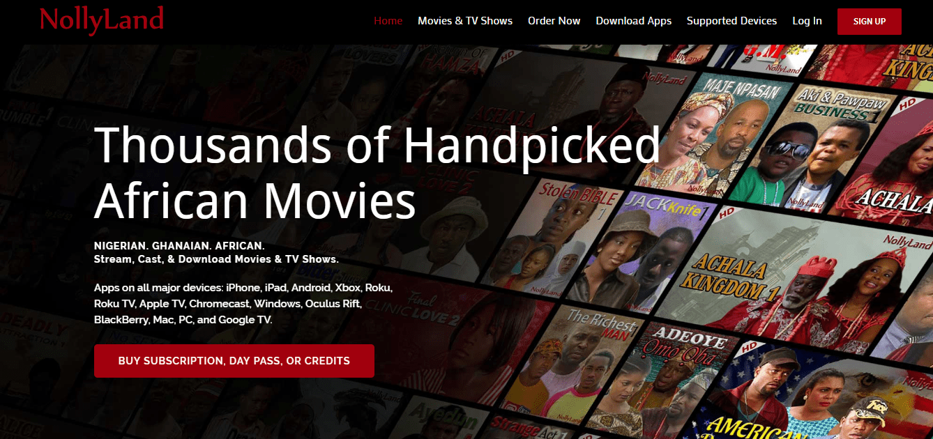 Download NollyLand Mobile Application For Unlimited African Movies