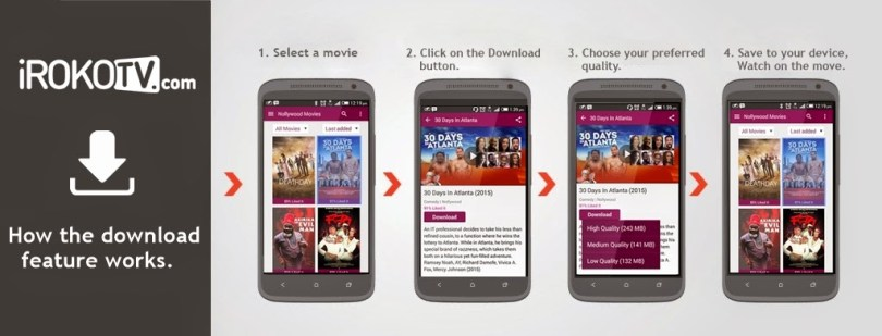 How to Download Nigeria Movies from iRokoTV App