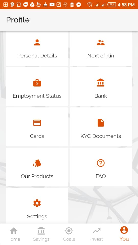 Download Investment One Ziing Mobile App