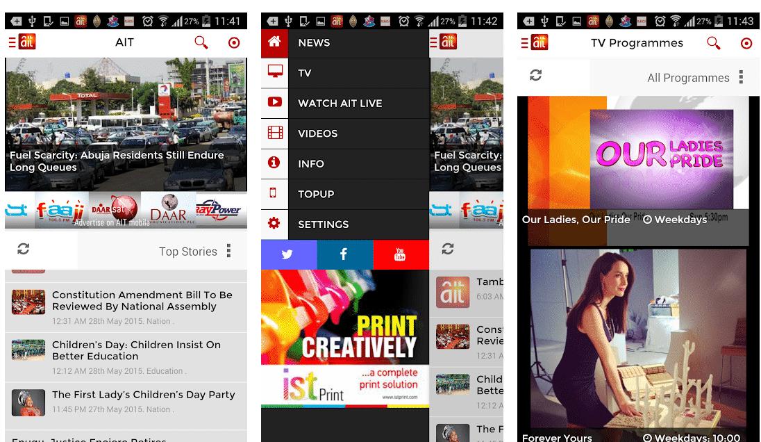 Stream Live News & Kakaaki on AIT Mobile App