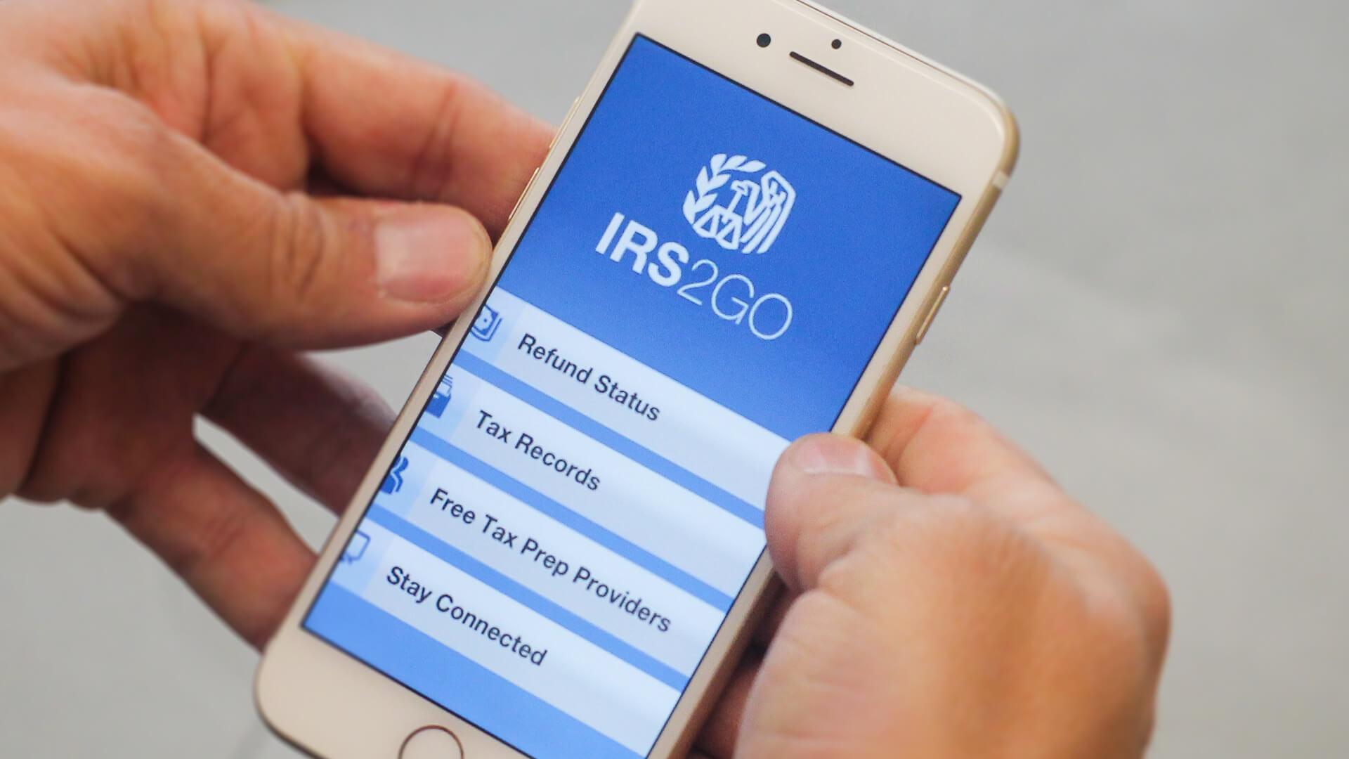 irs2go app iphone