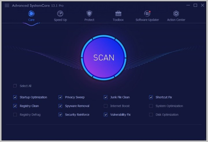 Advanced SystemCare Pro License Code Free Download