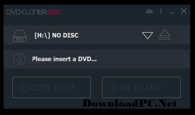 DVD-Cloner Full Version Interface