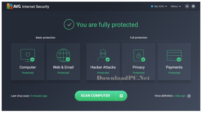 AVG Internet Security Full Version 2020 Download