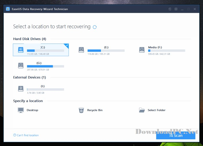 EaseUS Data Recovery Wizard Technician Full Version Download