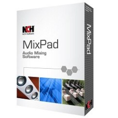 NCH MixPad Masters Edition Crack Free Download