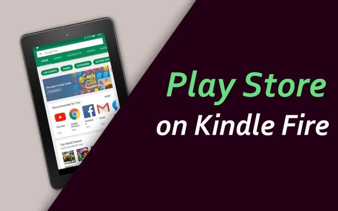 Google Play Store on Kindle Fire