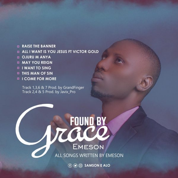 Found By Grace By Emeson
