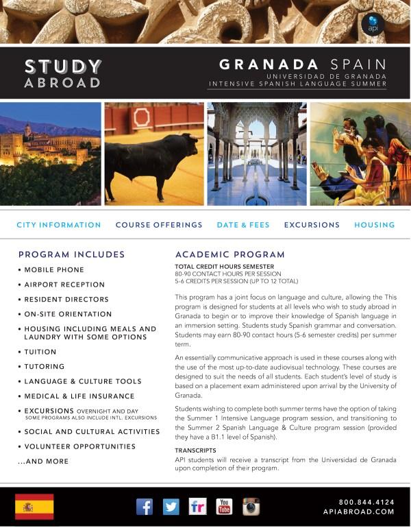 Programs Brochure Study