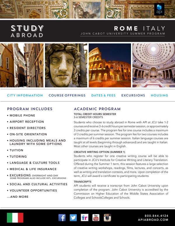 Programs Brochure Ucf