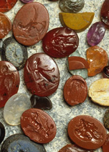 BBC Primary History British History Roman Gemstones