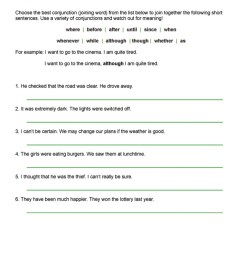 time worksheet: NEW 830 TIME CONNECTIVES WORKSHEET YEAR 6 [ 1065 x 752 Pixel ]