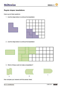 Pictures Tessellation Worksheets - Getadating