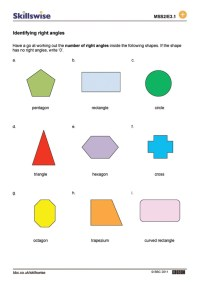 Identifying right angles