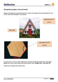Printable Worksheets  Worksheets On Angles