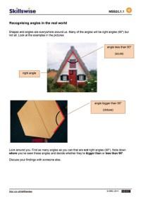 Printable Worksheets  Worksheets On Angles - Printable ...