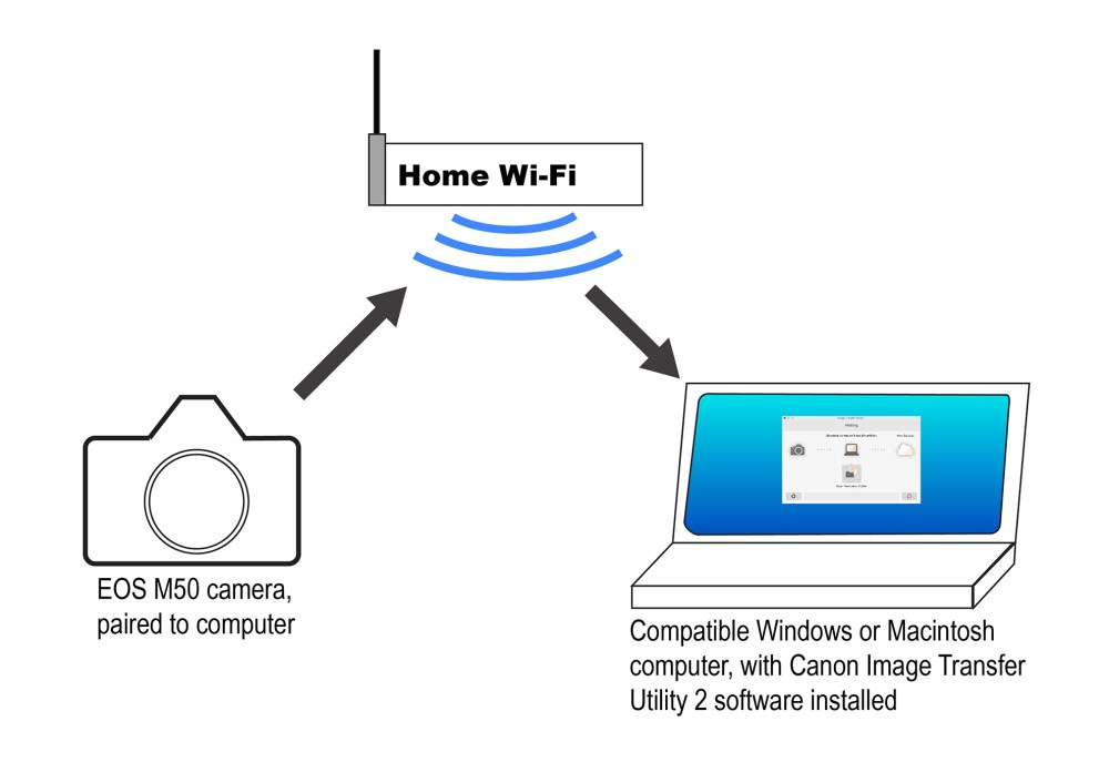 medium resolution of  diagram canon u s a inc canon eos m50 transfer images automatically on usb 2 0 wiring