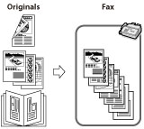 Main Features for Sending Faxes