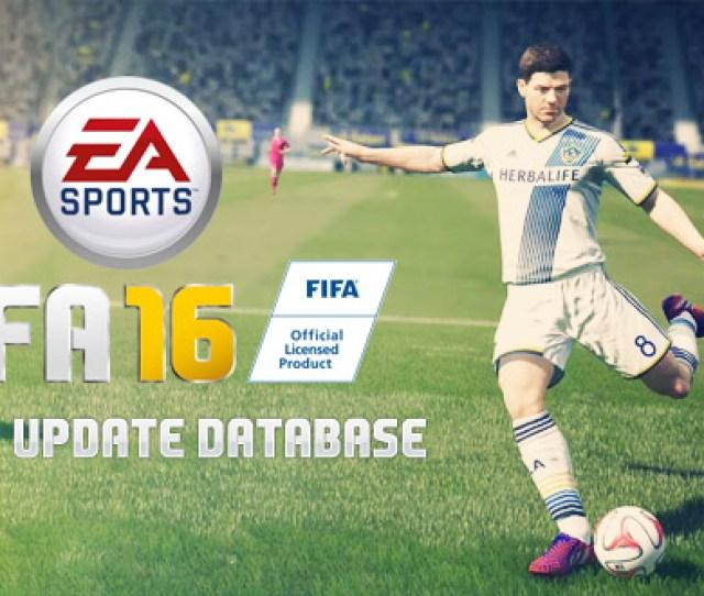 Fifa 16 Squads Update Database 2
