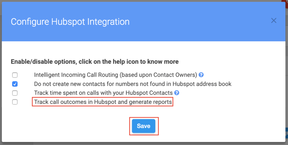 justcall integration settings