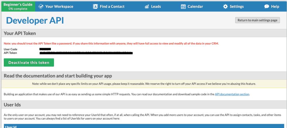 Less Annoying CRM API