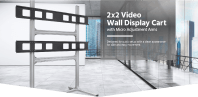 Monoprice 2x2 Video Wall System Bracket with Micro ...