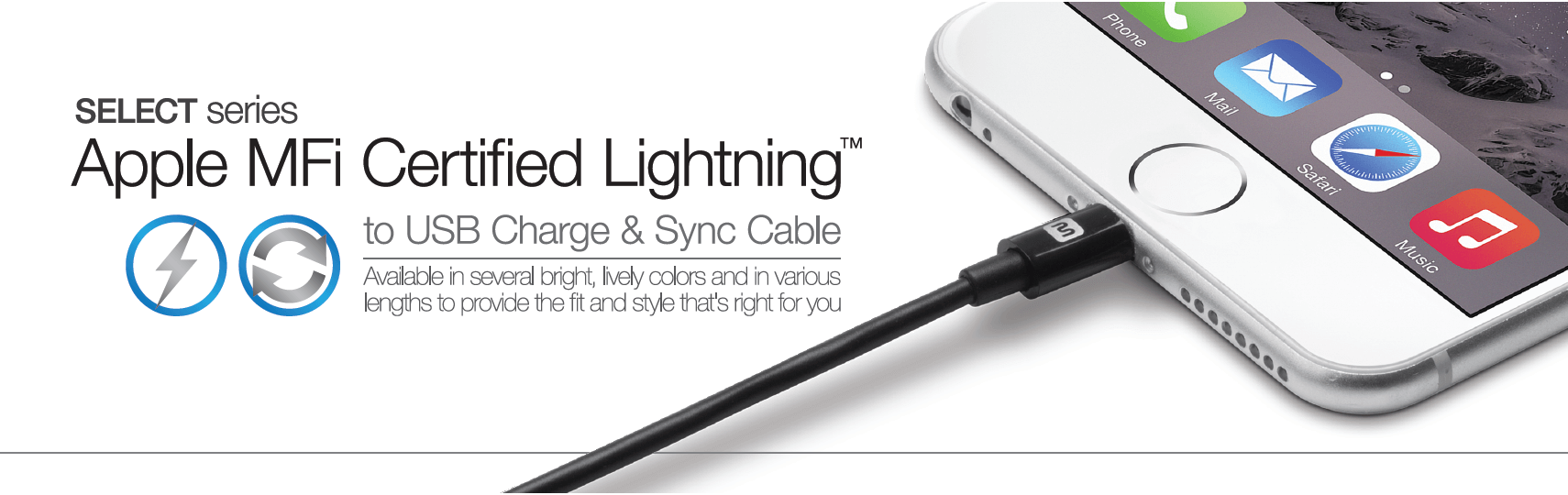 hight resolution of select lightning cables