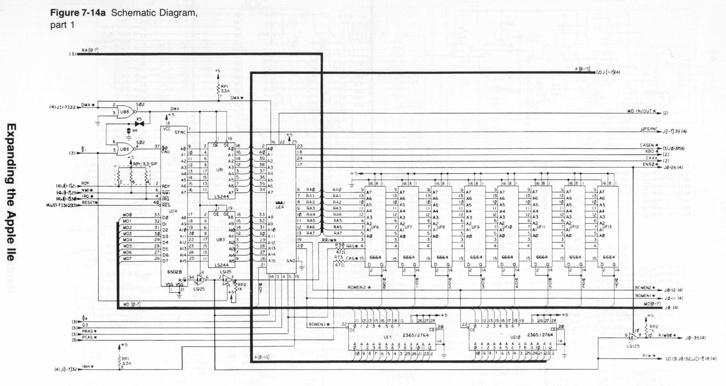Index of /Apple II Items/Hardware/IIe/Schematic