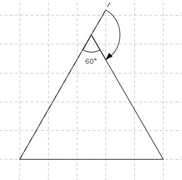 Drawing a regular polygon