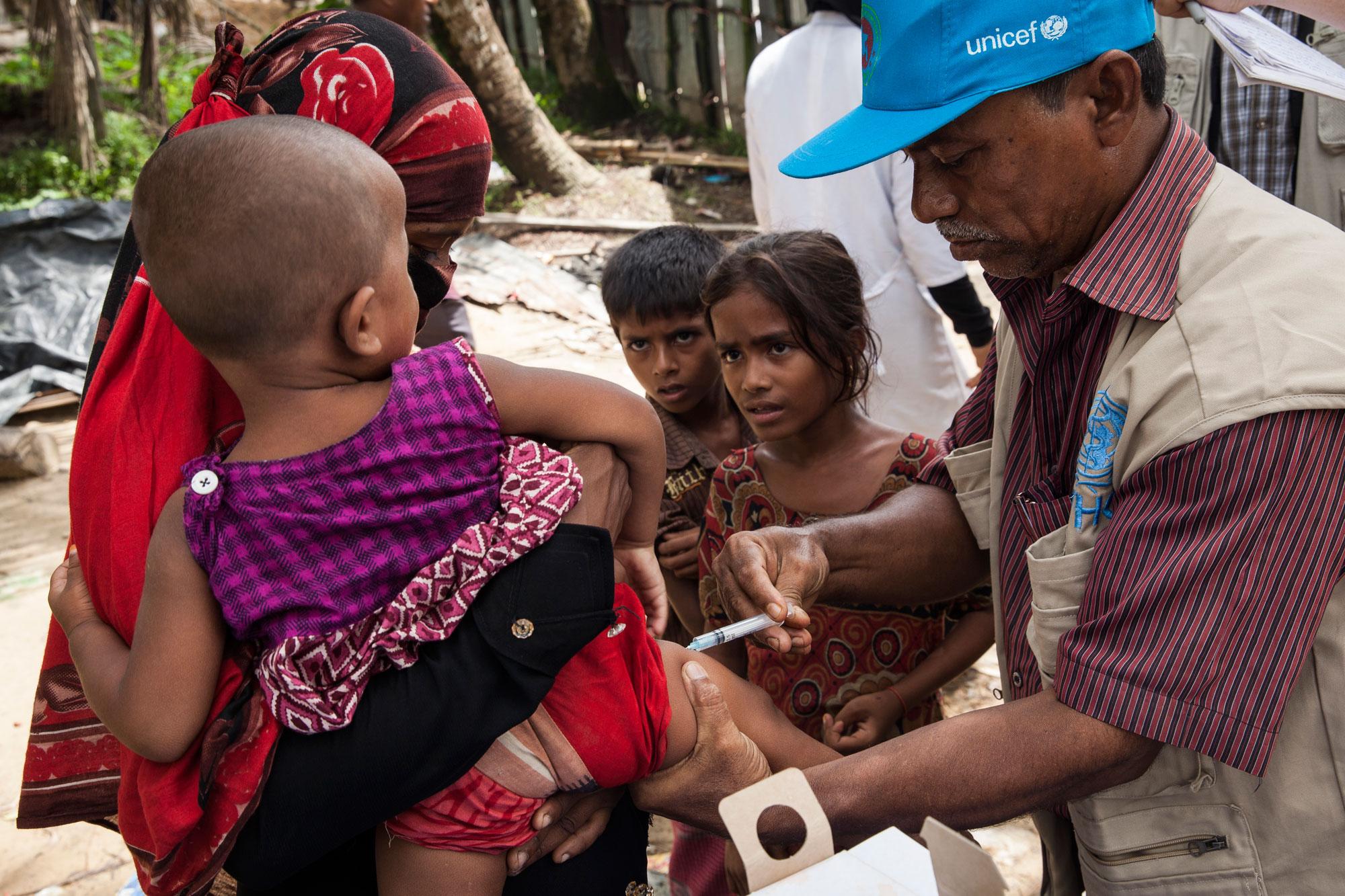 Protecting Rohingya children in Bangladesh  Unicef UK