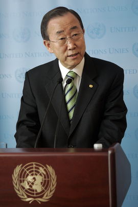 Secretary-General Briefs Media on Quake-Stricken Chile