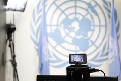 Seção multimídia da ONU, em NY. (ONU/JC McIlwaine)
