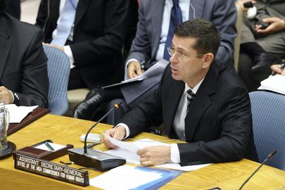 Secretário-Geral Adjunto da ONU para os Direitos Humanos, Ivan Simonovic (ONU/Evan Schneider)
