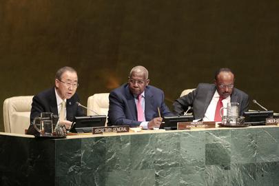 Secretary-General Briefs Assembly on Post-2015 Development Agenda