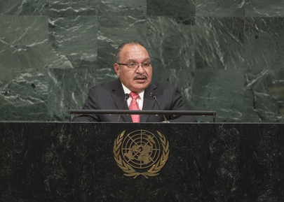 Prime Minister of Papua New Guinea Addresses General Assembly