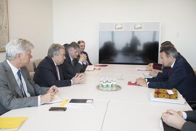 Secretary-General Meets President of ICRC