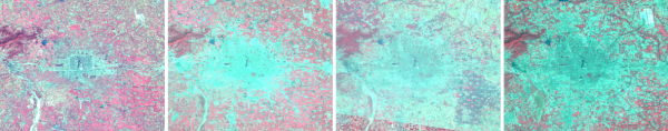 Landsat 2: Beijing, China