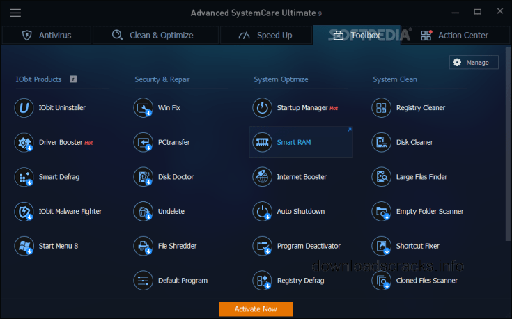 Advanced SystemCare Ultimate 12.1.0.119 Free