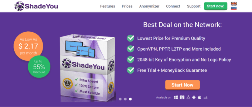 Download VPN free ShadeYouVPN