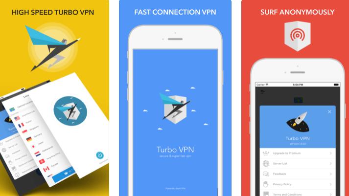 Download VPN free Turbo VPN