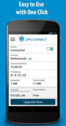 download ZPN connect apk