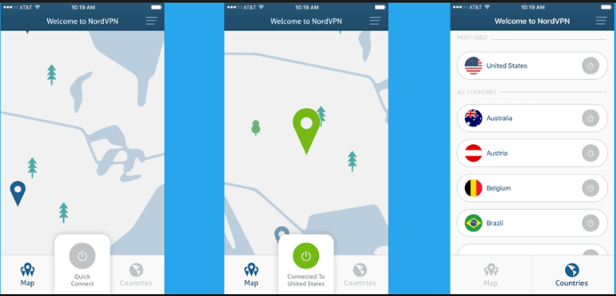 Download NordVPN for iPhone