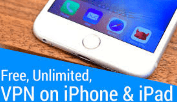 Free Unlimited VPN for iPhone