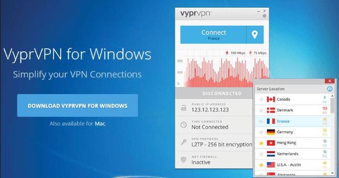 Download VyprVPN for Windows