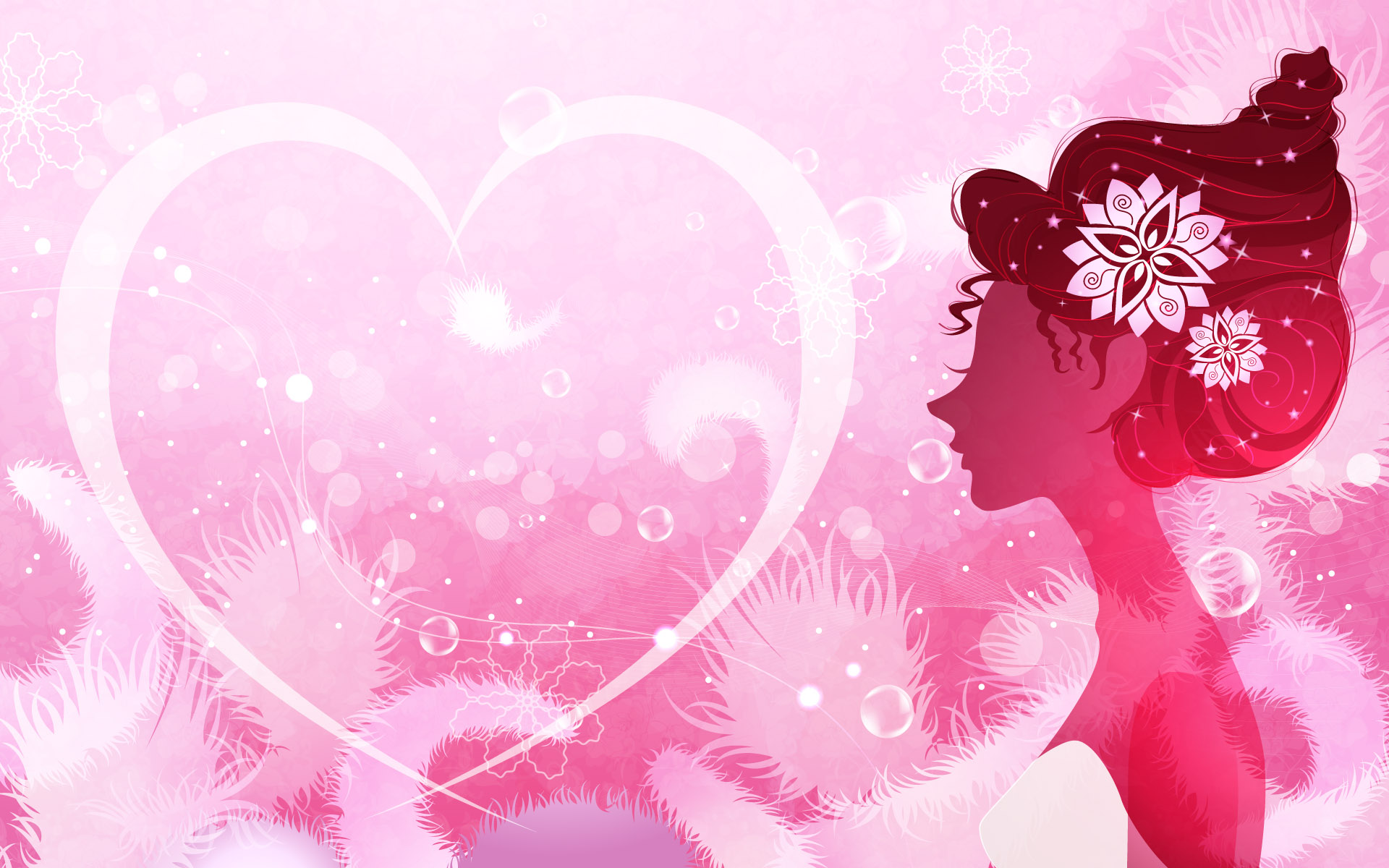 Desktop Wallpaper Cute Girl Fonds D 233 Cran Girly Tumblr Hd