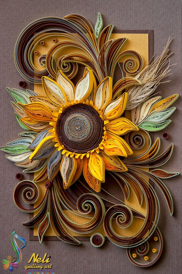 Paper Quilling Wallpaper - Of 3