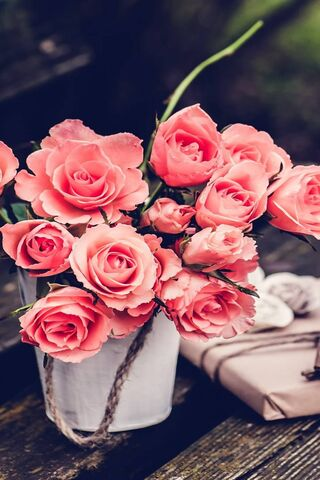 fleurs vintage fond d ecran
